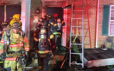 Second Alarm of Fire In Bel Air